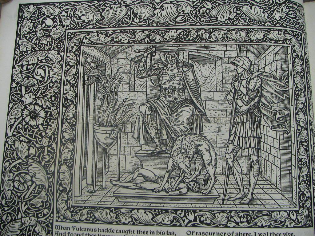 an analysis of the topic of canterbury tales by geoffrey chaucer Geoffrey chaucer's canterbury tales was not simply a verbal text to be perused  in  at the outset of each section is a brief analysis of how the topic in question.