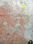 Areal Geology Map Close-up
