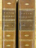 1785 - Novum Jesu [Barbou] 025 Book Spines
