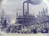 Harper's Weekly 8-8-1863. pg 501. Opening of the Mississippi