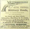 Harper's Weekly 8-15-1863. pg 528. Ad for guns