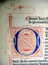 Ornate Initial (detail)