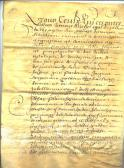 French Document 1632 page 1