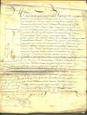 French Document 1654 page 1
