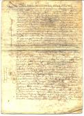 French Document 1664 page 1