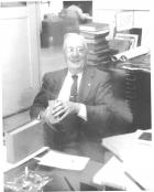 Dr. McCune at Desk