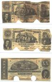 Confederate Currency 2 ($20, $20, $20) front side